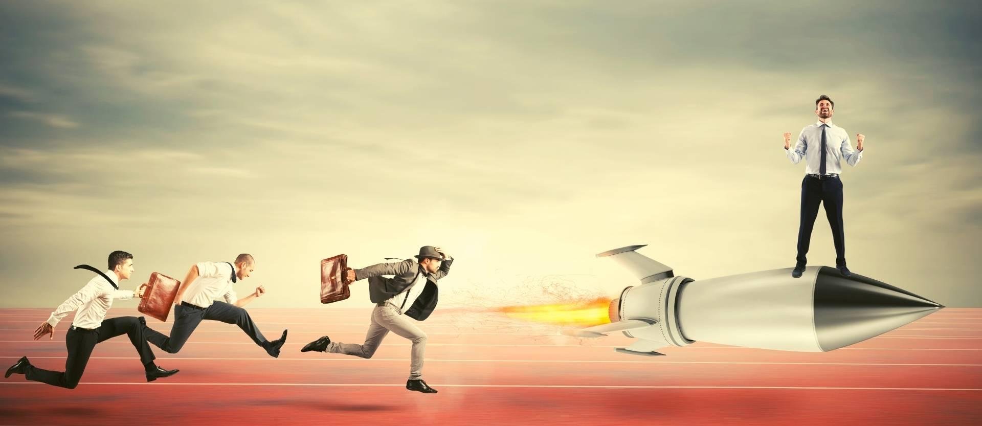 4 kroky ako zvládnuť konkurenciu